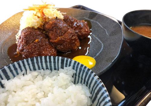 ヒレかつランチ-味噌